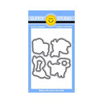 Sunny Studio Stamps - Sunny Snippets - Dies - Devoted Doggies