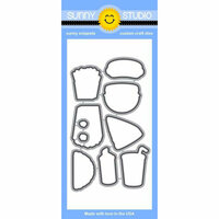 Sunny Studio Stamps - Sunny Snippets - Dies - Fast Food Fun