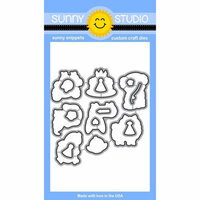 Sunny Studio Stamps - Sunny Snippets - Dies - Party Pups