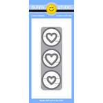 Sunny Studio Stamps - Sunny Snippets - Dies - Window Trio Circles