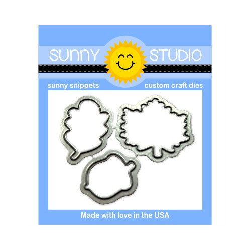 Sunny Studio Stamps - Sunny Snippets - Dies - Beautiful Autumn