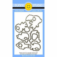 Sunny Studio Stamps - Sunny Snippets - Dies - Fall Kiddos
