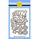 Sunny Studio Stamps - Sunny Snippets - Dies - Happy Harvest