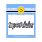 Sunny Studio Stamps - Sunny Snippets - Dies - Sparkle Word