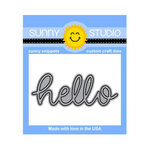 Sunny Studio Stamps - Sunny Snippets - Dies - Hello Word