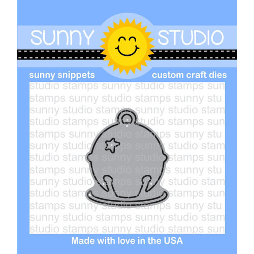 Sunny Studio Stamps - Christmas - Sunny Snippets - Dies - Silver Bells