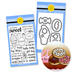 Sunny Studio Stamps - Snippits Die and Acrylic Stamp Set - Sweet Shoppe Bundle
