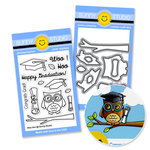 Sunny Studio Stamps - Snippits Die and Acrylic Stamp Set - Woo Hoo Graduation Bundle