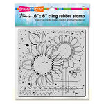 Stampendous - Clear Acrylic Stamps - 6 x 6 - Sunny Sketch