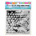 Stampendous - Clear Acrylic Stamps - 6 x 6 - Mixed Mesh