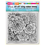 Stampendous - Cling Mounted Rubber Stamps - Succulents