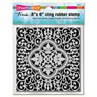 Stampendous - Cling Mounted Rubber Stamps - Taj Tile
