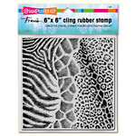 Stampendous - Cling Mounted Rubber Stamps - Wild Texture