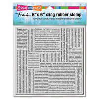 Stampendous - Cling Mounted Rubber Stamps - Inspiring Text