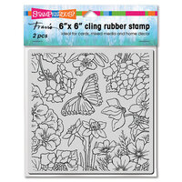 Stampendous - Cling Mounted Rubber Stamps - Spring Garden