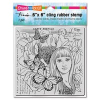 Stampendous - Cling Mounted Rubber Stamps - Butterfly Beauty