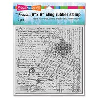 Stampendous - Cling Mounted Rubber Stamps - Posted Script