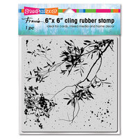 Stampendous - Cling Mounted Rubber Stamps - 6 x 6 - Wispy Branches