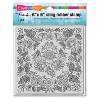 Stampendous - Cling Mounted Rubber Stamps - Blooming Tapestry