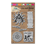 Stampendous - Cling Mounted Rubber Stamps - Curiosity