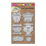 Stampendous - Cling Mounted Rubber Stamps - Shabby Chic
