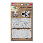 Stampendous - Cling Mounted Rubber Stamps - Toxic
