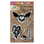 Stampendous - Cling Mounted Rubber Stamps - Handle With Care