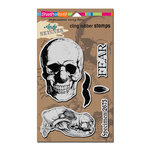 Stampendous - Cling Mounted Rubber Stamps - Skuldoggery
