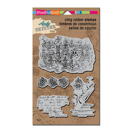 Stampendous - Cling Mounted Rubber Stamps - Textures