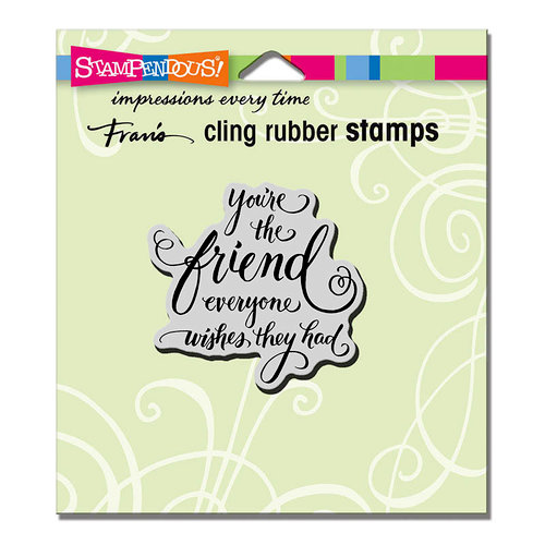 Stampendous - Cling Mounted Rubber Stamps - Everyone Wishes