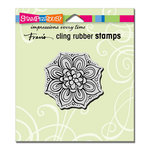 Stampendous - Cling Mounted Rubber Stamps - Mandala Bloom