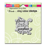 Stampendous - Cling Mounted Rubber Stamps - May Flowers