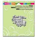 Stampendous - Cling Mounted Rubber Stamps - Sweet Of You