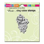 Stampendous - Cling Mounted Rubber Stamps - Earth Laughs