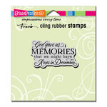 Stampendous - Cling Mounted Rubber Stamps - Memories