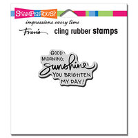 Stampendous - Cling Mounted Rubber Stamps - Morning Sunshine