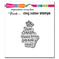 Stampendous - Christmas - Cling Mounted Rubber Stamps - Squeaky Stuff