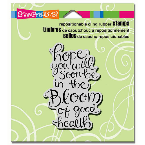 Stampendous - Cling Mounted Rubber Stamps - In The Bloom