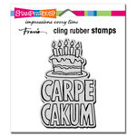 Stampendous - Cling Mounted Rubber Stamps - Carpe Cakum