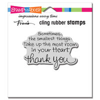 Stampendous - Cling Mounted Rubber Stamps - Smallest Things