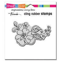 Stampendous - Cling Mounted Rubber Stamps - Floral Pop