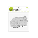 Stampendous - Cling Mounted Rubber Stamps - Carte Postale
