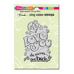 Stampendous - Cling Mounted Rubber Stamps - Great Big Love