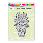Stampendous - Cling Mounted Rubber Stamps - Blossom Vase