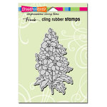 Stampendous - Cling Mounted Rubber Stamps - Delphinium
