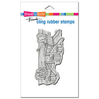 Stampendous - Cling Mounted Rubber Stamps - Seaside Christmas