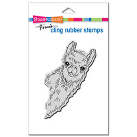 Stampendous - Cling Mounted Rubber Stamps - Llama Look