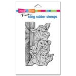 Stampendous - Cling Mounted Rubber Stamps - Funny Farm