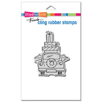 Stampendous - Christmas - Cling Mounted Rubber Stamps - Holiday Haul