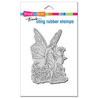 Stampendous - Cling Mounted Rubber Stamps - Fairy Tiptoe